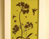 botanical/bird print