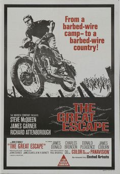 "Movie Poster of the Week: ""The Great Escape"""