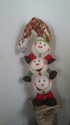 Christmas Tree Toppers, Christmas Snowman, Handmade Christmas, Christmas Decorations, Christmas Ornaments, Easter Crafts, Holiday Crafts, Holiday Decor, Christmas Makes