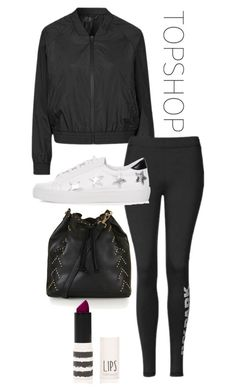 """TopShop"" by trilllexiii ❤ liked on Polyvore featuring Topshop, topshop and topset"