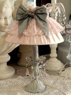 romantique inspirations shabby chic lampshade shabby. Black Bedroom Furniture Sets. Home Design Ideas