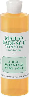 A.H.A. Botanical Body Soap from Mario Badescu - I absolutely love this body wash, it leaves my skin super soft (:
