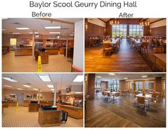 The dining hall project at Chattanoogas Baylor School is a great before-and-after story and now we have the before photos to prove it! / #interiordesign #tiledesign #tilework #tileart #tilelove #interiorlove #interior #interiors #interiordesigner #IDCdesigners #interiordecor #interiorinspiration  #interiorstyling #commercialdesign #residentialdesign  #tiles #tiled #architecture #designs #design #floor #floors #flooring #walltile #tileaddiction #tileporn by crossvilleinc