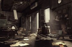Abandoned Office by ~amirabd2130 on deviantART