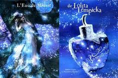 L`eau de Minuit by Lolita Lempicka is a Oriental Vanilla fragrance for women. L`eau de Minuit was launched in Top notes are ivy, anise and myrrh; Lolita Lempicka, Perfume Ad, Perfume Bottles, Fb News, Night Garden, Ad Fashion, Bottle Packaging, Vintage Ads, Noel