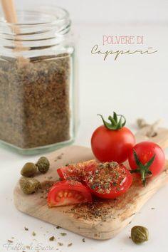 Polvere di capperi ricetta | Fables de Sucre