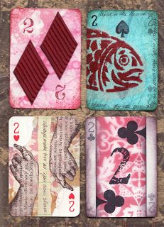 radiant crust: More altered playing cards ...
