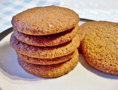 Gluten free vegan ginger snaps