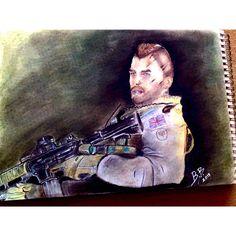 "Call of Duty:Modern Warfare Series- Captain ""Soup"" Mactavish"