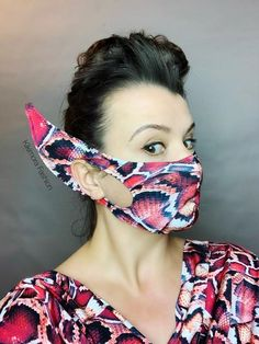 Excited to share the latest addition to my shop: Elf mask. Costume accessory, for dancers, circus performers, fashion, Breathing Face mask Dance Accessories, Costume Accessories, Diy Mask, Diy Face Mask, Face Masks, Sewing Patterns Free, Free Sewing, Breathing Mask, Mouth Mask Fashion