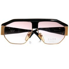 Rare Eyewear – Versace & Cazal Sunglasses | Now Available | Wish Blog ❤ liked on Polyvore featuring accessories, eyewear and sunglasses