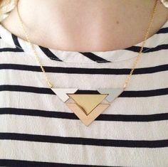 Geometric Jewelry by Shlomit Ofir