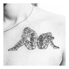 Instagram media insta_blackwork - Burning Man Tattoo by @labigotta - based on Alexander Milov . Want a feature? Use #iblackwork for a chance to get featured . ▶@labigotta . Tag blackwork fans below and dont forget to double-tap ✔ . ▶@labigotta . Feel free to visit my art page @renessancedesign and personal page @rene_ssaince ✌✔ . .