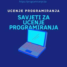 Savjeti za ucenje programiranja Laptop, Electronics, Instagram, Laptops, Consumer Electronics