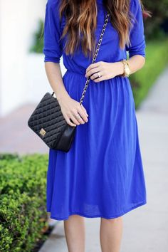 Merrick's Art // Style + Sewing for the Everyday Girl : DIY FRIDAY: MAXI TO MIDI REFASHION