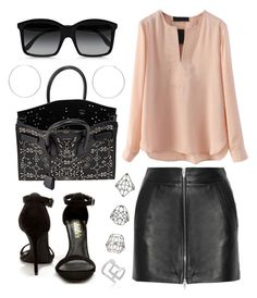 """""""FULL OF SOMETHING"""" by ll2amlllostllinllyoull ❤ liked on Polyvore featuring T By Alexander Wang, LULUS, STELLA McCARTNEY, Yves Saint Laurent, Topshop, Edge of Ember and Sterling Essentials"""