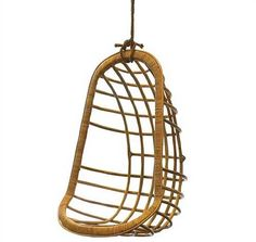 I'll say it upfront: this is not a look for everyone. However, if you're willing to take a chance on something that's a little over the top, using a hanging chair indoors is fun, fun, fun! We've rounded up 10 hanging chairs to get the look in your own home. And if you're not quite willing to do it indoors, you can transfer this look to your outdoor space.