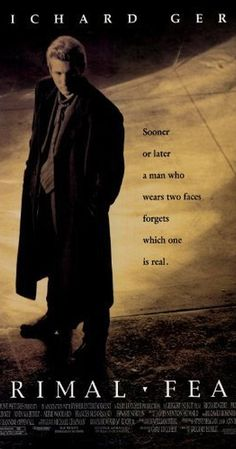 Directed by Gregory Hoblit.  With Richard Gere, Laura Linney, Edward Norton, John Mahoney. An altar boy is accused of murdering a priest, and the truth is buried several layers deep.