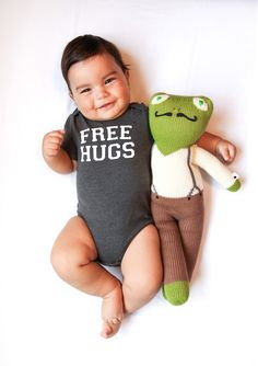 Creative Mom Takes Photos of Her Adorable Baby's Weekly Pun-Filled Onesies