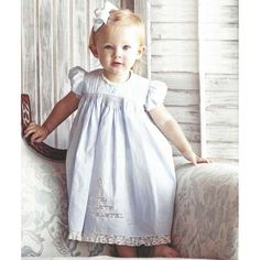 """""""Bella Daygown"""" by Martha Broyles from 'Classic Sewing' Magaine using OFB 'Emma's Smocked Daydress' (7-12-16)"""