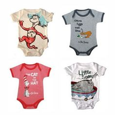 Dr Suess onesies!!!! I need these