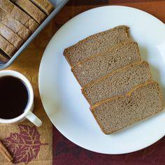Low Carb & Sugar Free Pumpkin Bread via @dropthesugar
