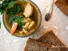 prawn ceylon soup / sopa cingalesa de gambas
