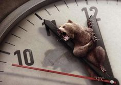 Clock-Clutching Creature Campaigns:  These Bund Ads Point to Endangerment Awareness (by Scholz & Friends, Berlin)