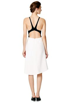 Beaded Point Dress by Narciso Rodriguez