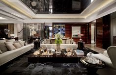 Luxurious living room spells different to everyone but each of us has a common notion of what is luxurious and not. Checkout 30 modern luxury living room design ideas for your inspiration