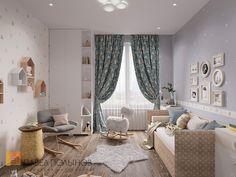 Фото дизайн интерьера детской комнаты из проекта «Дизайн квартиры в современном стиле, ЖК «Смольный парк», 175 кв.м.»