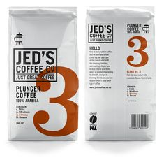 Jed's Coffee Co. - The Dieline -