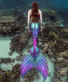 Image may contain: one or more people, flower, outdoor, nature and water Realistic Mermaid Tails, Silicone Mermaid Tails, Mermaid Tails For Kids, Fantasy Mermaids, Real Mermaids, Mermaids And Mermen, Images Of Mermaids, Mermaid Purse, Mermaid Cove