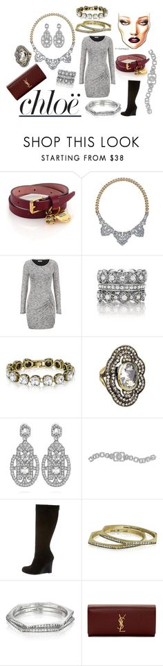 Chloe's Holiday look? by judith-segovia on Polyvore featuring maurices, Christian Louboutin, Yves Saint Laurent, Alexander McQueen, Chloe + Isabel and Chloé