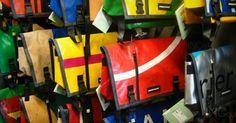 Freitag การออกแบบกระเป๋าที่พลิกมุมมองต่อวัสดุรีไซเคิล