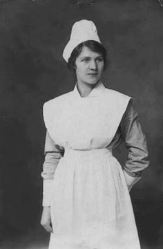 Image detail for -Nurse in the late 1800's