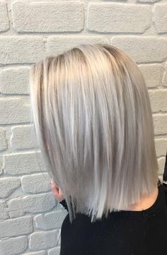 cool Looking The Part: Silver/Blonde Color Correction