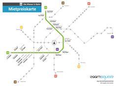 u4 mietpreise U Bahn, Square, Blog, Chart, Map, Vienna, Infographics, Random, Property Prices