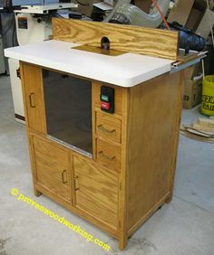 Router Table-from woodworking plans
