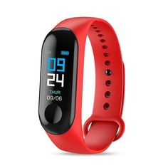 """With a 0.96"""" TFT color touch screen your fitness data will be easy to read. Providing all-day activity tracking of steps, calories burned, mileage and heart rate.Automatic sleep monitoring of time & sleep quality.Smart reminder including call reminder, messaging push and sedentary behavior.Includes phone search, remote camera shoot, stop watch.Bluetooth 4.0 compatible for Android 4.4 and above system, for iOS 8.0 and above system. Features: Fitness Tracker, Health Monitoring, Intelligent Rem Tracker Fitness, Fitness Tracker Bracelet, Waterproof Fitness Tracker, Android 4.4, Android Wear, Smartwatch Waterproof, Bracelet Intelligent, Health Bracelet, Sports"""