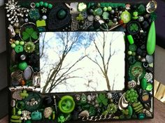 Irish mosaic mirror!  by MosaicTreasureBox