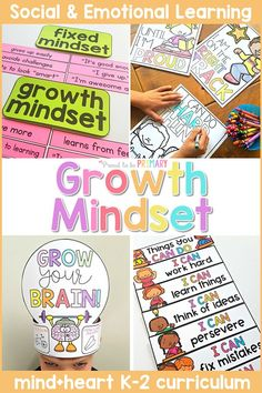 Teach children about their elastic brain, a fixed mindset and growth mindset, perseverance, learning from mistakes, failures, challenges, and the power of YET. Children will make their own 'Grow Your Brain' crown and develop a growth mindset through discussions, writing, and hands-on activities. #socialemotional #classroommanagement #charactereducation #socialskills #growthmindset Teaching Respect, Teaching Kids, Teacher Freebies, Teacher Resources, Kindergarten Classroom Management, Classroom Ideas, Character Education Lessons, Growth Mindset Activities, Thing 1