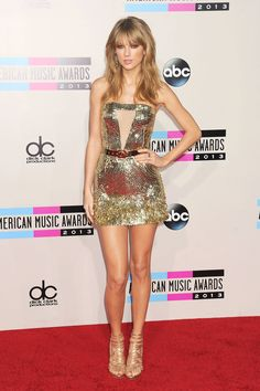 At the American Music Awards in Los Angeles in November 2013. Getty -Cosmopolitan.com