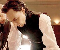 Thomas William Hiddleston, Tom Hiddleston Loki, Beautiful Men, Beautiful People, Jim Beaver, Thomas Sharpe, Mia Wasikowska, Crimson Peak, Dave Grohl
