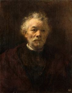 Portrait of an old man, said to be Rembrandt's brother by circle of Rembrandt, ca. 1650 (PD-art/old), Musée du Louvre, from the collection of Stanislaus Augustus