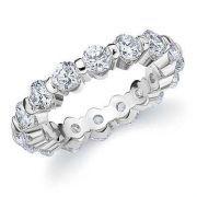 ETERNITY SERTIE BRIDE OR BLANC #alliancedemariage #eternity