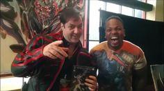 Tyrone Magnus Meets Comic Book Artist Extraordinaire Graig Weich!!!