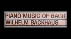 Wilhelm Backhaus liszt - YouTube