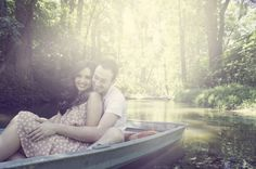 Lakeside Rustic Engagement Session: Stephanie   Michael