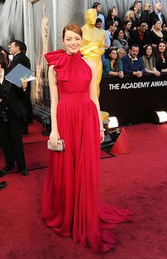 Emma Stone in Giambattista Valli - Oscars 2012